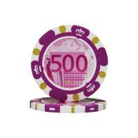 Pokerchips Euro ontwerp €500