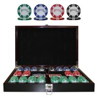 Bicycle poker set 300 fiches