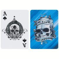 Club Tattoo speelkaarten Bicycle blauw