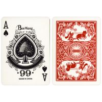 Cart classics playing cards No. 988 rood