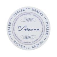 Keramische Dealer Button Ascona