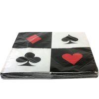 Casino servetten Place Your Bets (16 stuks)