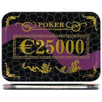 Casino poker plak €25000
