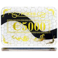 Casino poker plak €5000