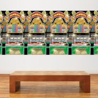 Casino wanddecoratie Slot Machines