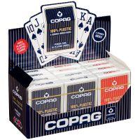 COPAG 12 pack plastic speelkaarten 4 jumbo index