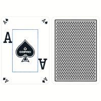 COPAG plastic kaarten special edition silver blauw