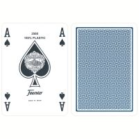Fournier standaard poker speelkaarten blauw