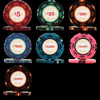 James Bond casino chips