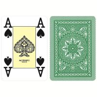 Modiano Poker Cristallo Verde Plastica