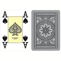 Modiano Poker Cristallo Nero Plastica