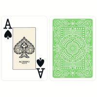 Plastic kaarten Modiano Texas Poker lichtgroen