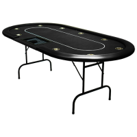 Pokertafel Cash Game Zwart
