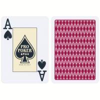 Pro Poker Plastic Speelkaarten Rood