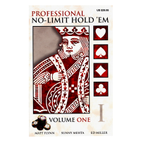 Professional No-Limit Holdem Volume One