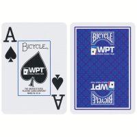 World Poker Tour kaarten Bicycle blauw