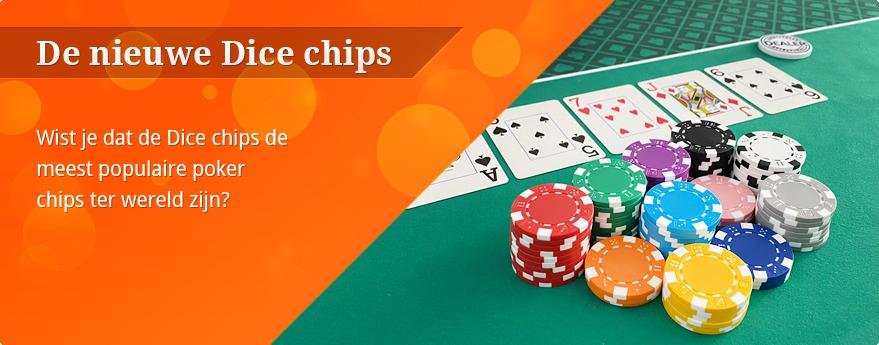 Dice poker chips kopen?