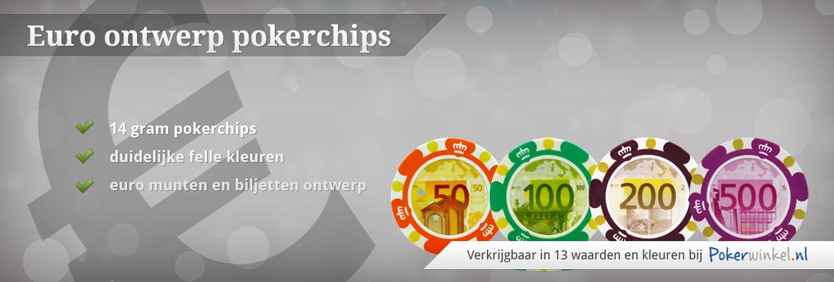 Euro pokerchips
