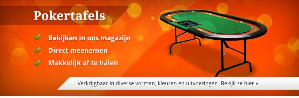 poker tafels kopen