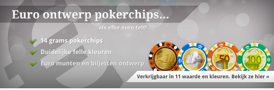 Euro pokerchips